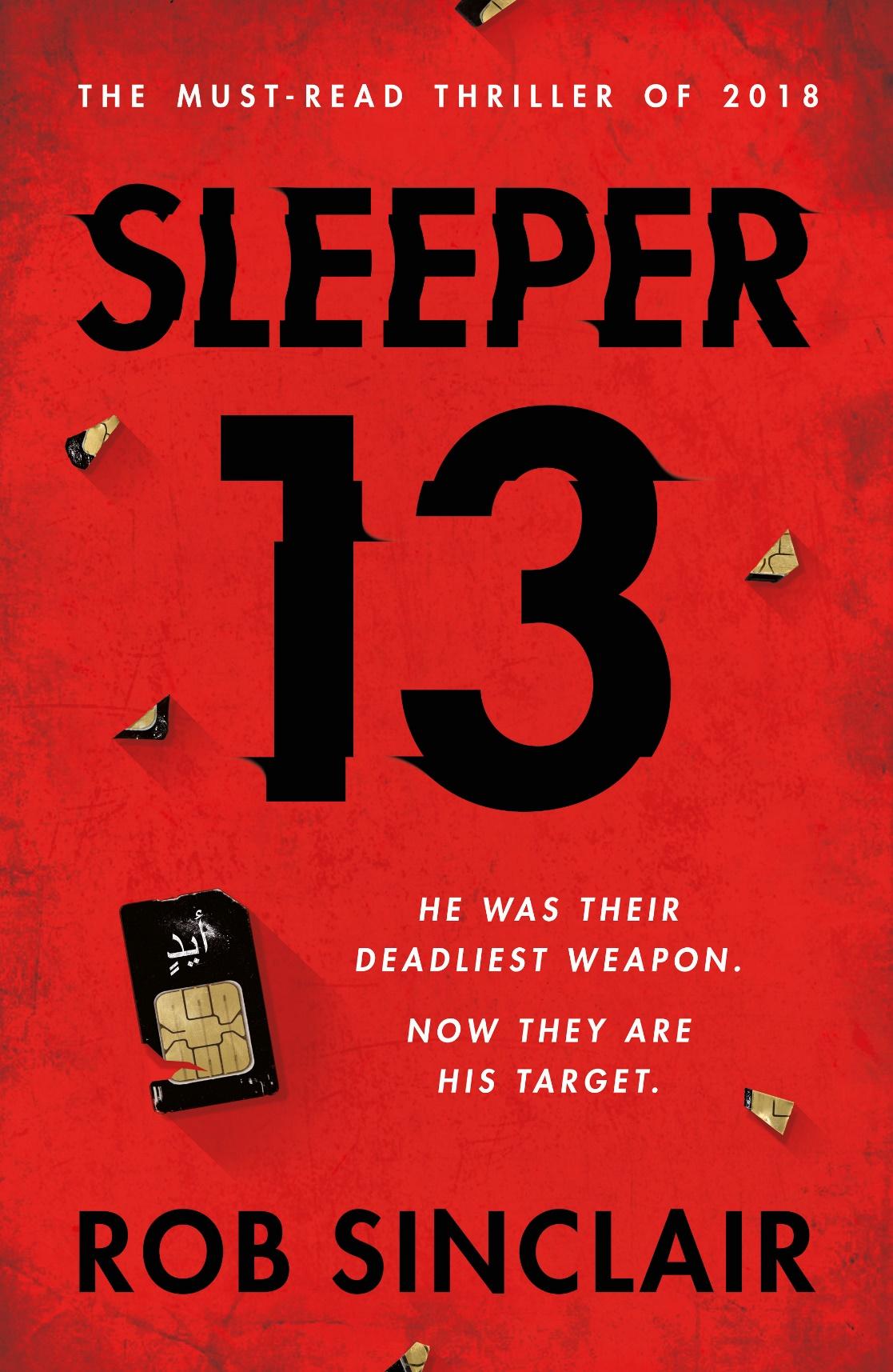 Sleeper 13, Book, Thriller, Rob Sinclair