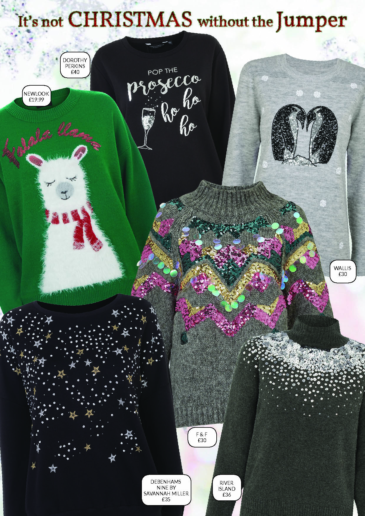 festive, fashion, christmas, party season, dresses, christmas jumpers