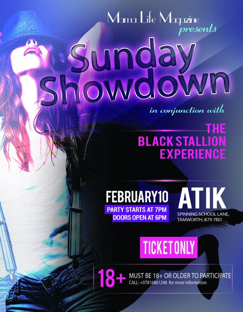 sunday showdown,party,event, mama life magazine